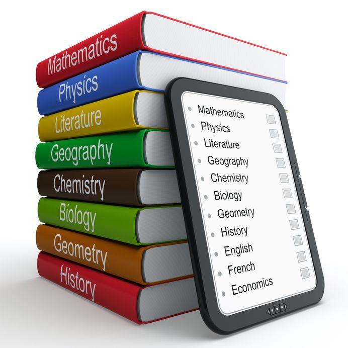 Listados de libros de texto para el curso 2021-2022