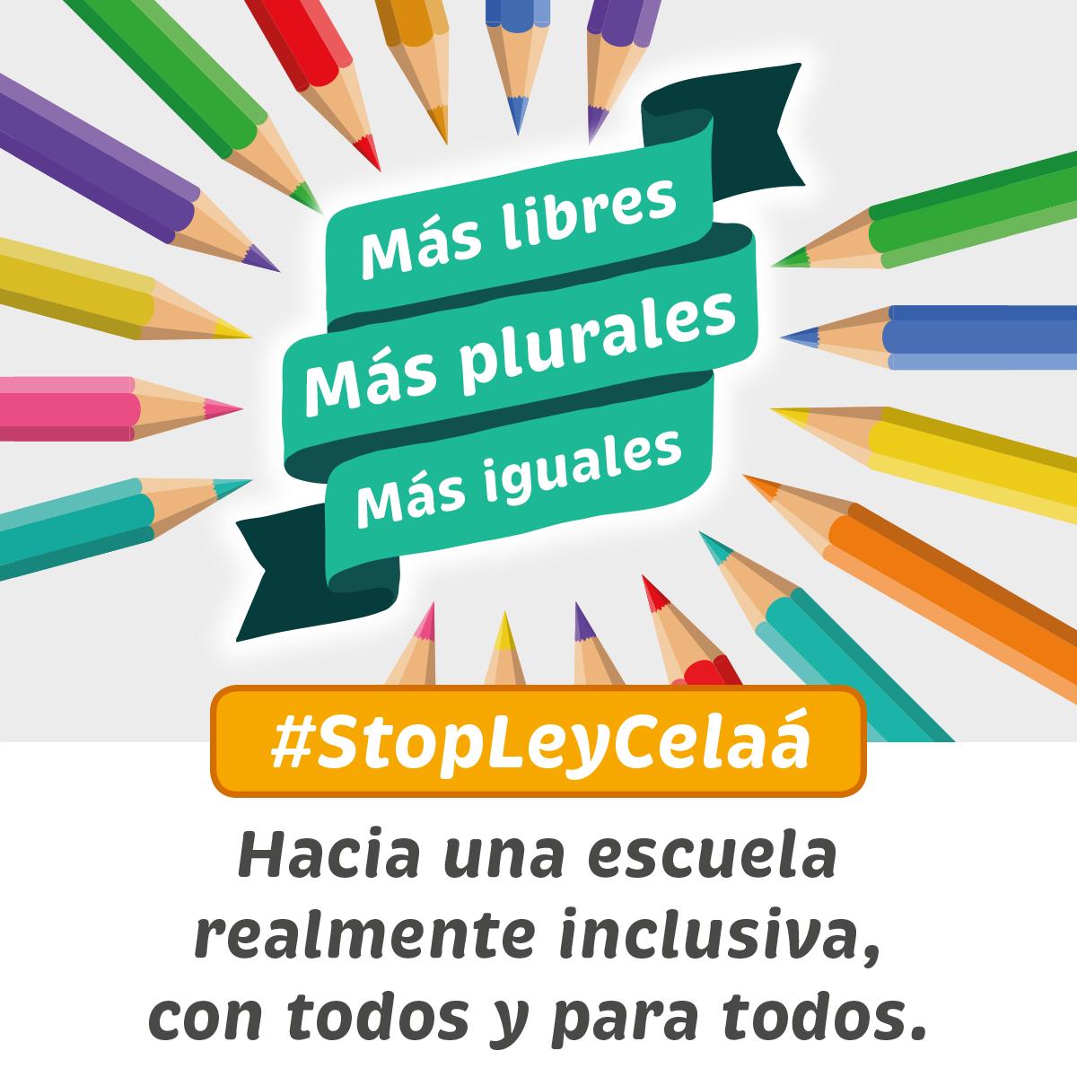 Manifiesto @MasPlurales. No a la Ley Celaá