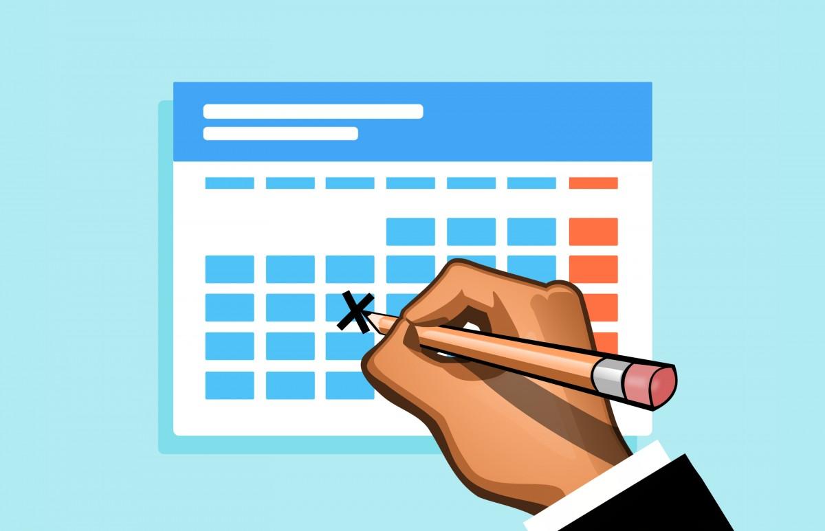 Recordatorio Calendario Escolar 2020-21