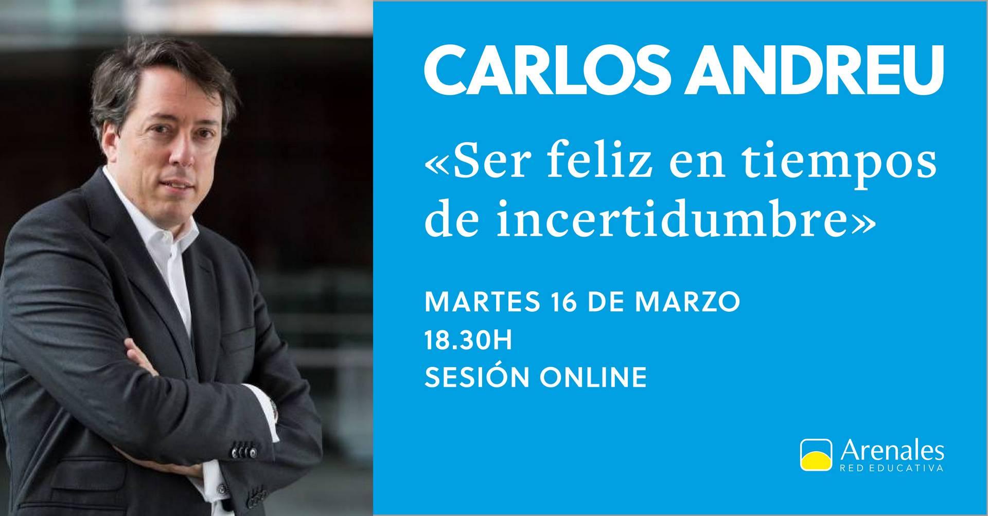 Sesión online Carlos Andreu.