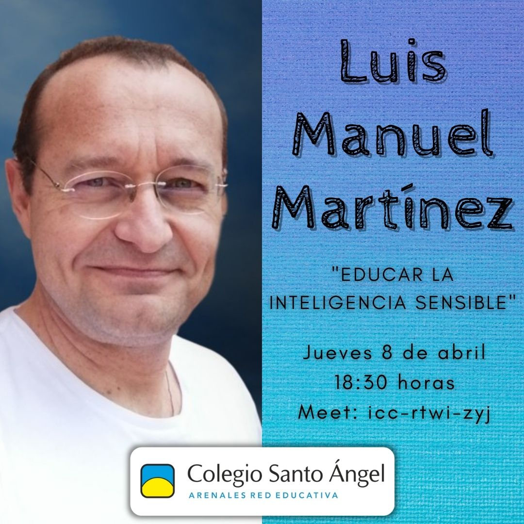 Sesión formativa con Luis Miguel Martínez