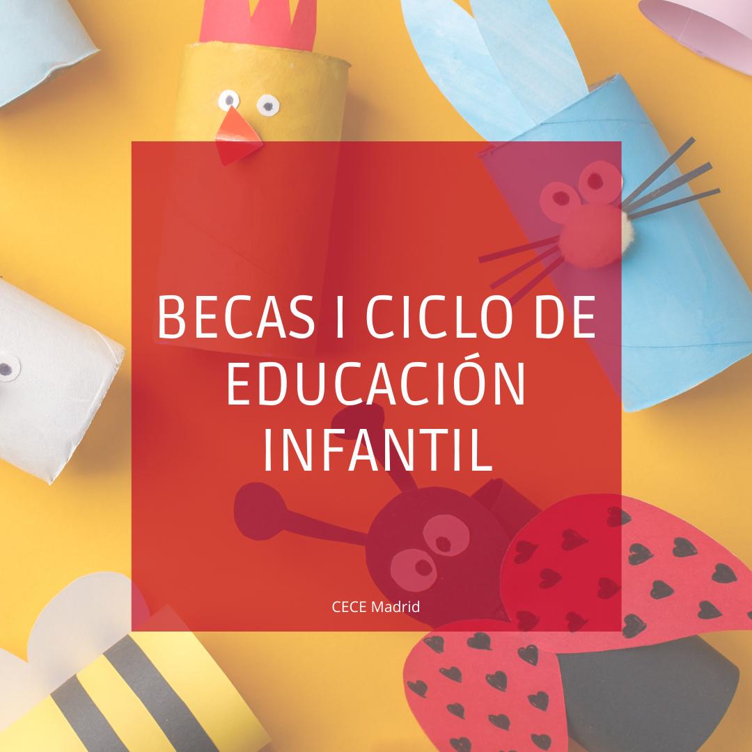 BECAS EDUCACIÓN INFANTIL 0-3